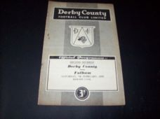 Derby County v Fulham, 1958/59